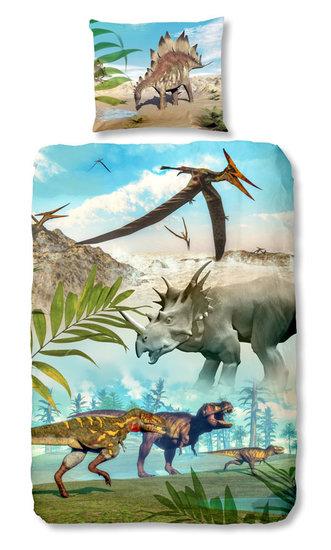 Dekbedovertrek dinosaurussen   Dekbedovertrekken