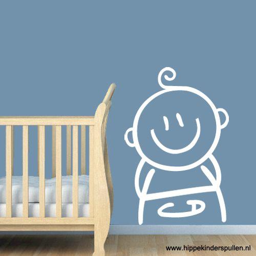 Muursticker baby  Babykamer muurstickers
