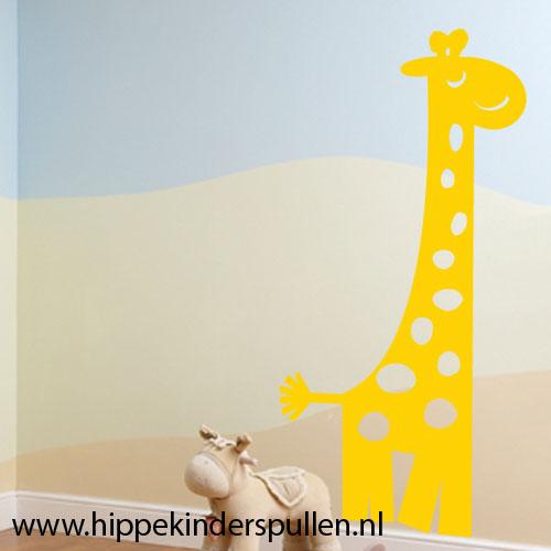 Muursticker Giraffe Kinderkamer.Muursticker Giraf Muursticker Dieren