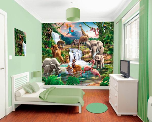 Kinderkamer Jungle Behang : Behang archieven huis inrichten
