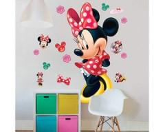Disney Minnie Mouse muursticker XXL