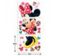 minnie mouse sticker, walltastic sticker
