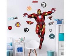 Iron man muursticker XXL