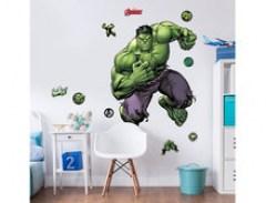 De Hulk muursticker XXL