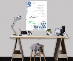 Muursticker whiteboard Real Madrid
