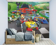 Posterbehang Mickey Mouse, Disney behang, Mickey Mouse spullen