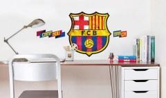 Muursticker FC Barcelona logo