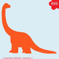 Behangfiguur dinosaurus