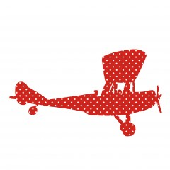 Behangfiguur vliegtuig