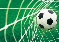 Behang voetbal goal XXL