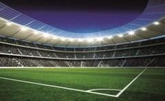 Behang voetbal stadion corner  XXL