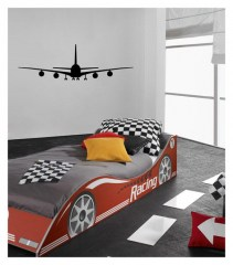 Muursticker Coart airplane