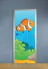 Deursticker clownfish