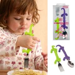 Dinnersaurs vork en lepel