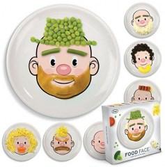 Food Face kinderbord heer