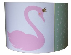 Hanglamp zwaan roze