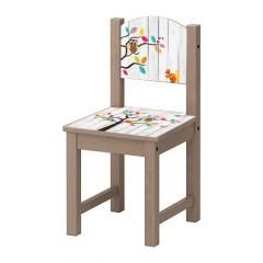 Kinderstoel boom jongen