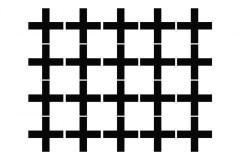 muursticker kruisjes, kruisjes sticker