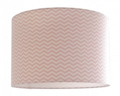 Kinderlamp chevron roze
