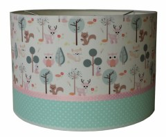 Hanglamp little forest friends pastel
