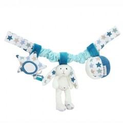 Autostoel speeltje blauw