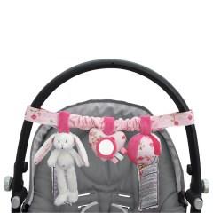 Little Dutch autostoel speeltje roze
