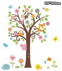 Kinderkamer Muursticker Boom.Muurstickers Bomen En Takken