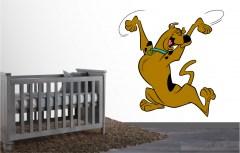 Muursticker Scooby Doo