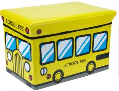 Opbergbox schoolbus