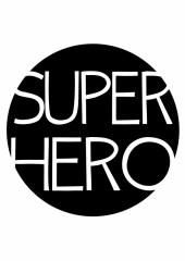 Poster superheld tekst