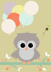 Poster uil ballon