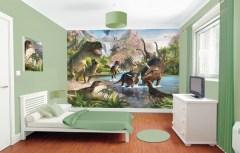 Posterbehang dinosaurus