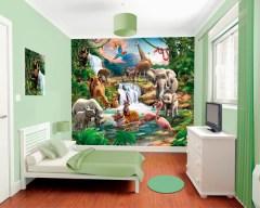 Posterbehang jungle