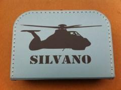 koffertje met helikopter en naam, kinderkoffertje bedrukt