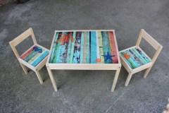 Tafel met stoeltjes Caribbean