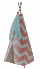 Tipi lamp chevron