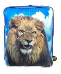 De Kunstboer rugtas leeuw