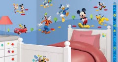 muurstickers Mickey Mouse