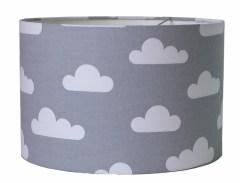 Kinderlamp wolk grijs