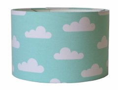 Kinderlamp wolk mint