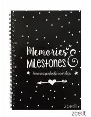 Zoedt memories en milestones