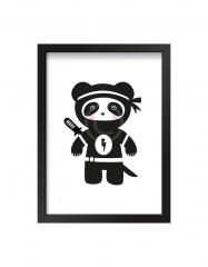 Poster panda ninja