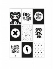 zoedt woonslinger jongen, slinger panda, kinderkamer panda
